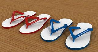 Flip-flops Papercraft