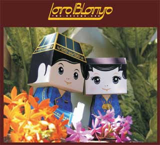 Loro Blonyo Papercraft