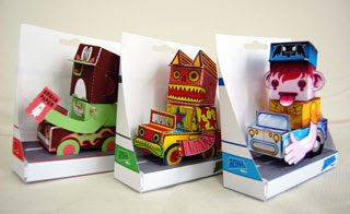 Paper Toy Display Box