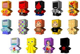 Boxy Papercraft Toys