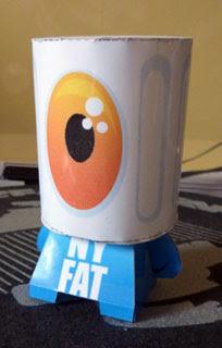 NY Fatcap Papercraft
