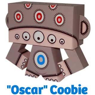 Oscar Coobie Paper Toy