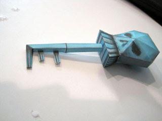 Smuggler Key Papercraft