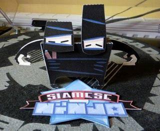 Siamese Ninja Papercraft