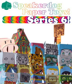 Speakerdog Paper Toys Series 6