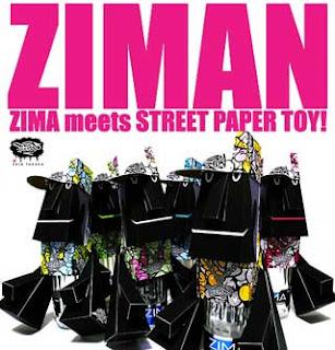 ZIMA Paper Toy