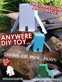 Anywere DIY Paper Toy