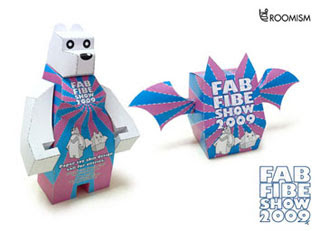 Love Bear Paper Toy