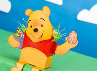 Winnie the Pooh Papercraft