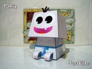 Baby Paper Toy