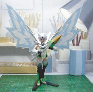 Orichalcum Reycal Papercraft Diorama