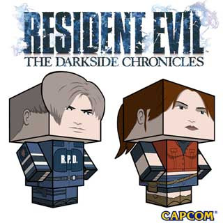 Resident Evil Papercraft