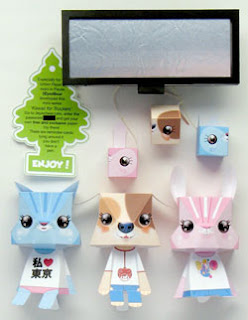 Kawaii for Truckers Paper Toys