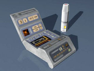Medical Tricorder Scanner Papercraft