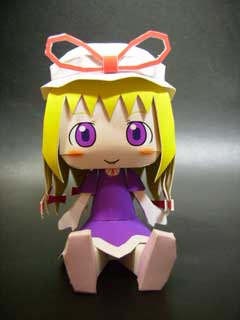 Touhou Project Papercraft