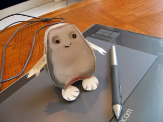 Adipose Papercraft
