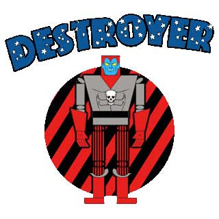 Destroyer Papercraft