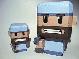 Minigore Papercraft