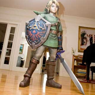 Life-size Link Papercraft