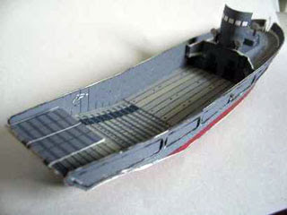 Higgins Boat Papercraft