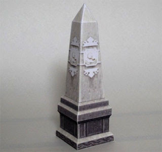 Guild Stone of Hope Papercraft