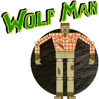 Wolf Man Papercraft