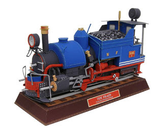 Toy Train Papercraft