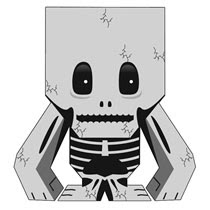 Skeleton Papercraft
