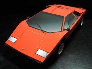 Lamborghini Countach LP400 Papercraft