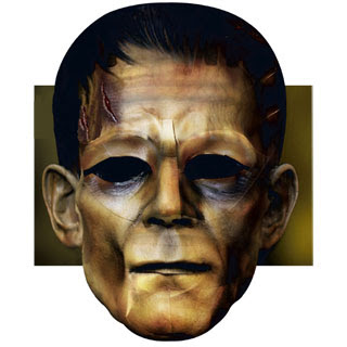 Frankenstein Mask Papercraft