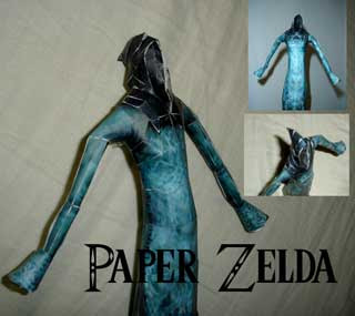 Twilight Princess Poe Papercraft