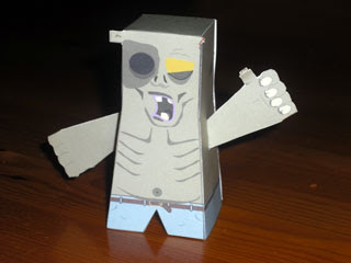 Max Zombie Papercraft