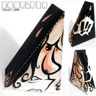 Egopaper Alphabet Papercraft