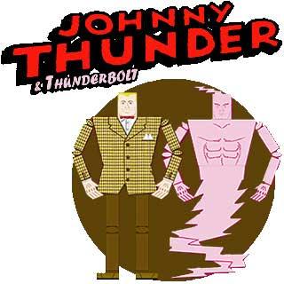 Johnny Thunder Thunderbolt Papercraft