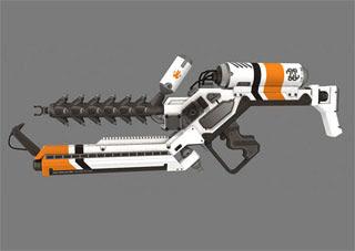 Splat Gun Papercraft
