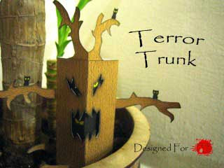Terror Trunk Papercraft