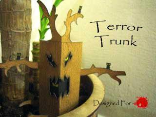 Terror Trunk Papercraft