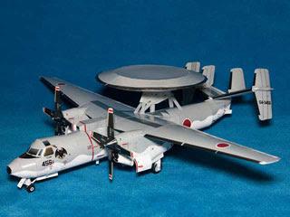 Grumman E2C Hawkeye Papercraft