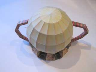 Giant Mutant Sphere Papercraft