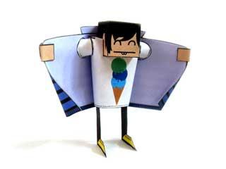 Chukka Paper Toy