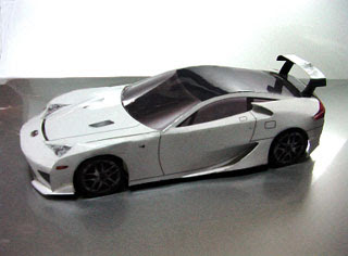 Lexus LFA Papercraft