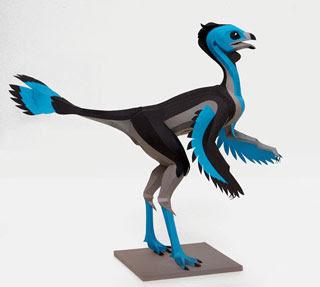 Caudipteryx Papercraft