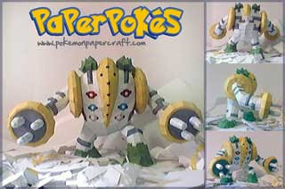 Regigigas Papercraft