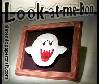 Boo Diddley Papercraft