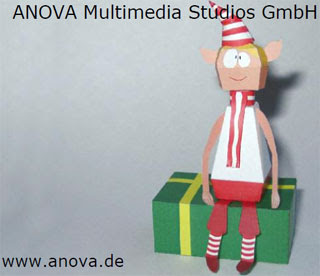 Christmas Elf Papercraft 2