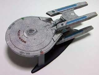 Sovereign-class Starship Papercraft