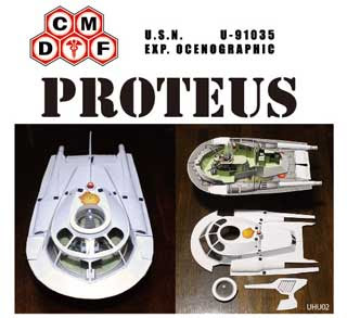 Proteus Papercraft Submarine