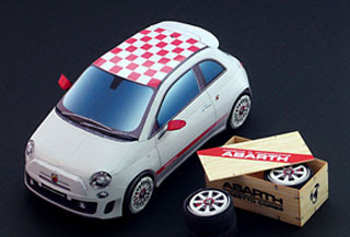 Fiat 500 Abarth esseesse Papercraft