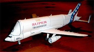 Airbus Beluga Papercraft