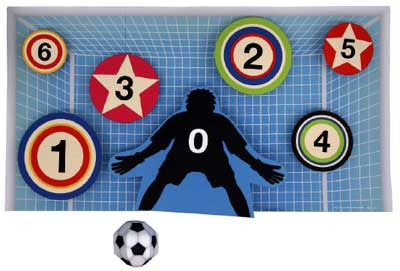2010 FIFA World Cup Football Game Papercraft